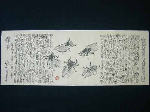 蝉図 8/13